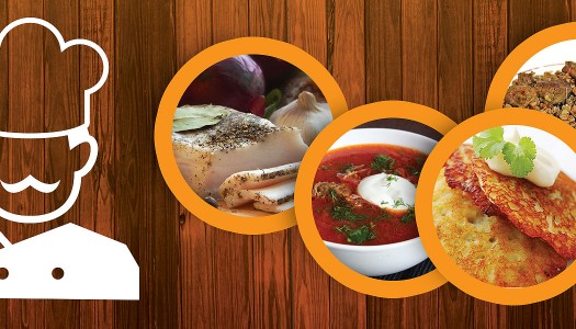 TOP 10 Ukrainian Dishes