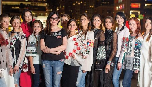 Vyshyvanka Couture at Ukrainian Chicago Fashion Show