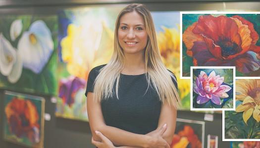 Марина Данилович – українська художниця з Чикаго