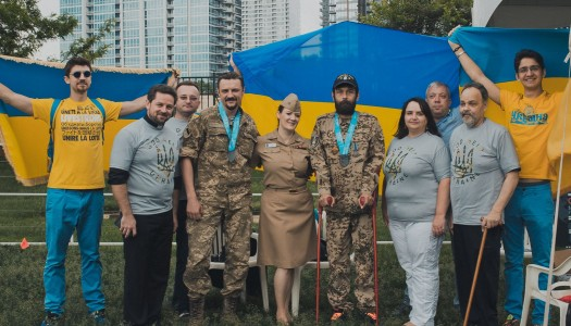 Kyiv Committee honors the Armed Forces and welcomes a Heavyweight Champion Mayor